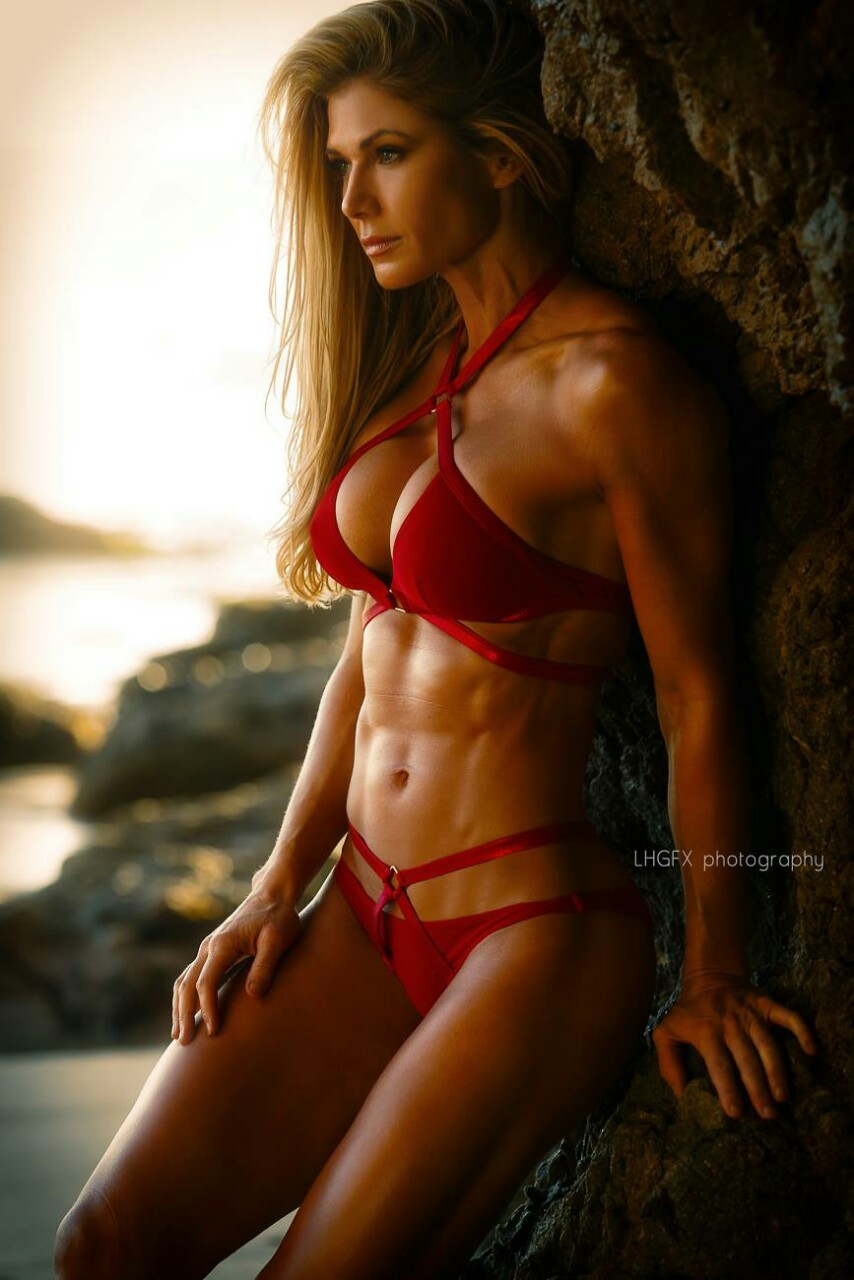 Top female fitness model nude
