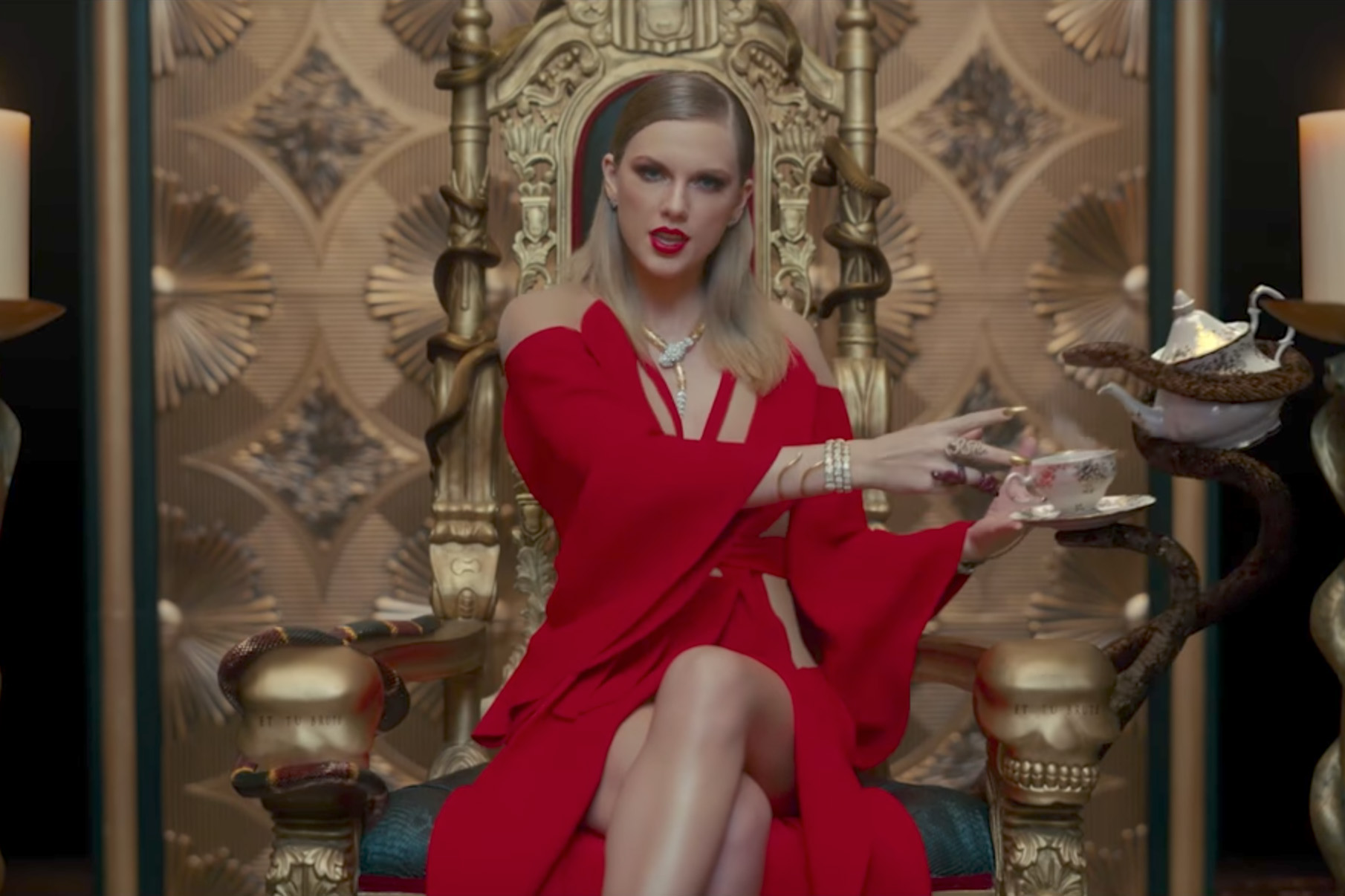 Taylor swift video look what you made me do meaning