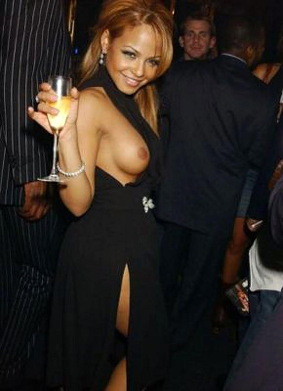 Nude pictures of christina milian
