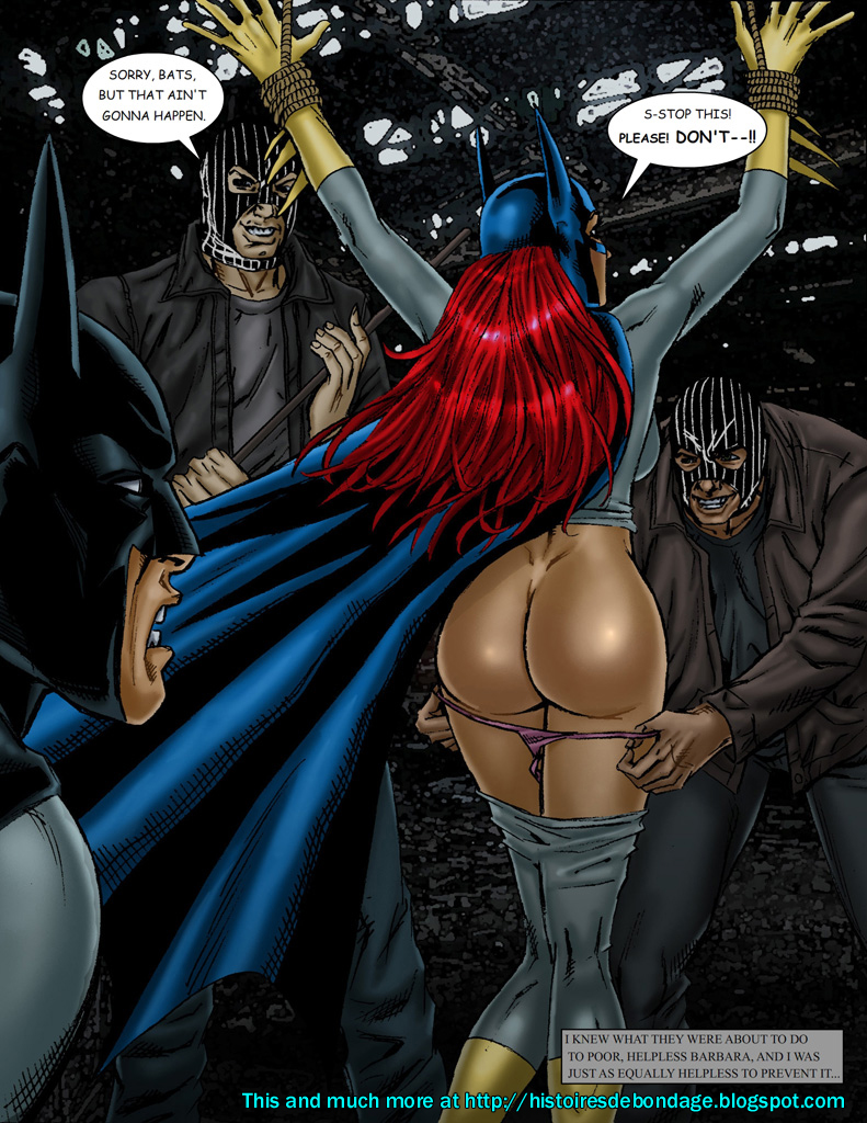 Free sexy nude picture of batgirl