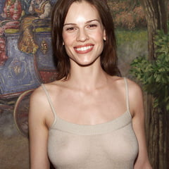 Hillary swank almost nude