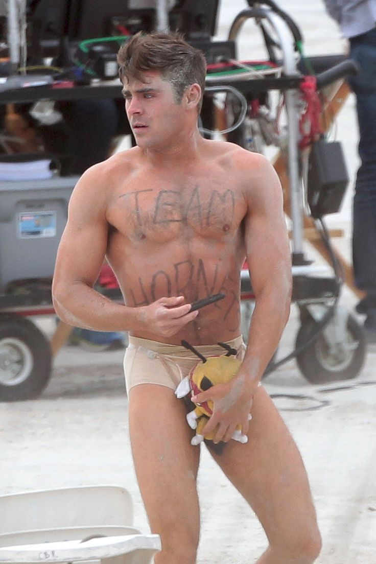 Zac efron almost nude